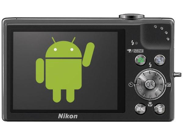 Android dalam kamera Nicon